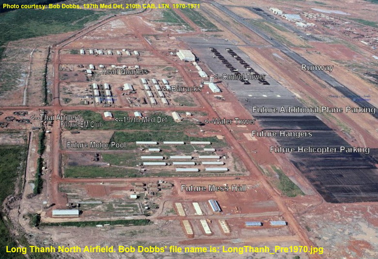 Long Thanh North Airfield, courtesy of Bob Dobbs